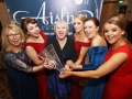 Aisling Awards 2017 Europa Hotel. pictured:   Kerry-Anne McCrudden, Kelsey Barr, Alison McCrudden, Katie Bonner, Bernadette Johnston and Lynsey Martin (Brassneck) (Peoples Choice Award)  JC17
