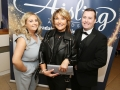 Aisling Awards 2017 Europa Hotel. pictured:   Margaret McGuckin, Chandelle Quinn and Steven McCann  JC17