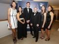 Aisling Awards 2017 Europa Hotel. pictured:   Gerard Mulhern with Nia Moore, Maria Jardim, Natalya Lee, Matthew Bauer and Kristen Bromley  JC17