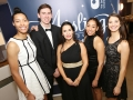 Aisling Awards 2017 Europa Hotel. pictured:   Nia Moore, Maria Jardim, Natalya Lee, Matthew Bauer and Kristen Bromley  JC17