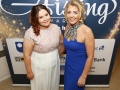 Aisling Awards 2017 Europa Hotel. pictured:   Lauren Morgan and Annemarie Maguire   JC17