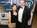 Aisling Awards 2017 Europa Hotel. pictured:   Maureen and Gareth McGleenon  JC17