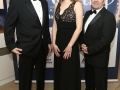 Aisling Awards 2017 Europa Hotel. pictured:   Michael George, Emma Toner and Umberto Scappaticci  JC17