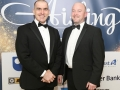 Aisling Awards 2017 Europa Hotel. pictured:   Donal McKinney and Malachy Carabine  JC17
