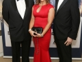 Aisling Awards 2017 Europa Hotel. pictured:   Pat Webb, Jo Davison and Adrian Walker  JC17