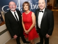 Aisling Awards 2017 Europa Hotel. pictured:   Garry Cullen, Denise Marley and Michael Pucci  JC17