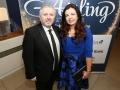 Aisling Awards 2017 Europa Hotel. pictured:   Fr Gary Donegan and Susan McLoughlin  JC17