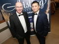 Aisling Awards 2017 Europa Hotel. pictured:   Gerry White and Claro Guerrero  JC17