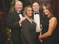 Aisling Awards 2017, Liam and Joni Cullen with Ricky and Michelle Mc Givern