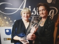 Aisling  Award, Rois'n McDonough with Alison McCruddem of Brassneck