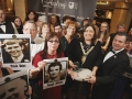 Person of the Year Award. Winners Ballmurphy Massacre Families Campaigners with Lord Mayor Deirdre Hargey.