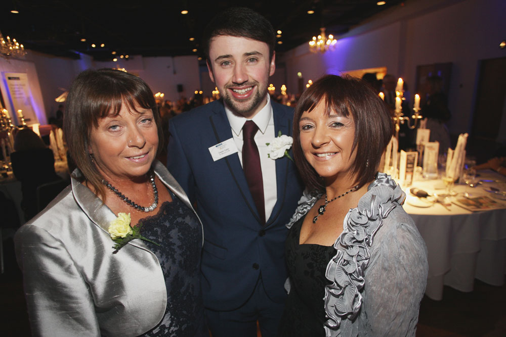 Bernadette Rodgers with Jacqueline Coulter and Conor Carter