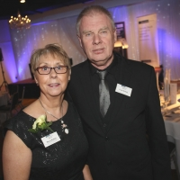 Maura and Frank McNally of Holy Cross Girl's