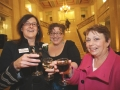 Hilary Donnan, Marius Griffin and Teresa Graham at the Danske Bank Blackboard Awards in Stormount Parliament Building