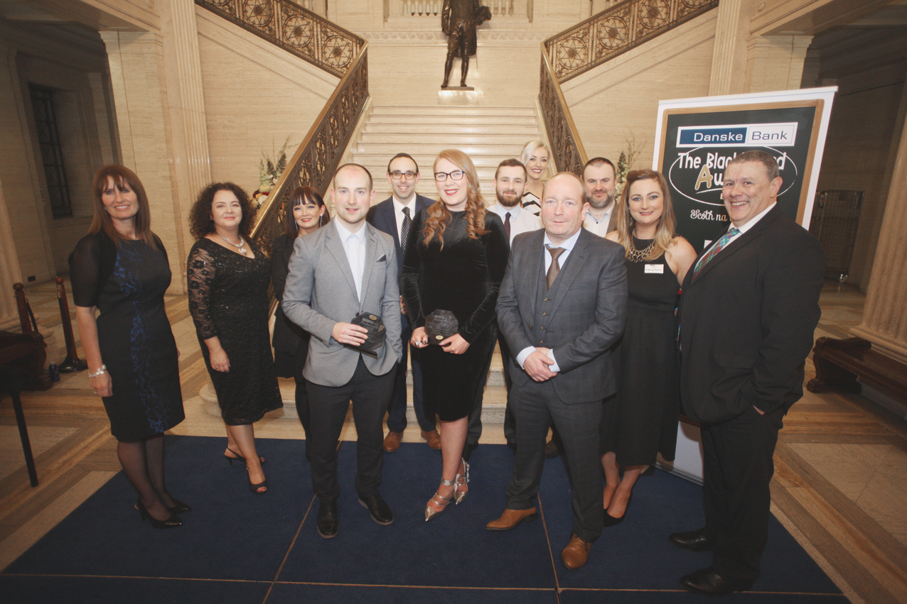 Blackboard awards Belfast 2017 at Stormount, Edmund Rice College