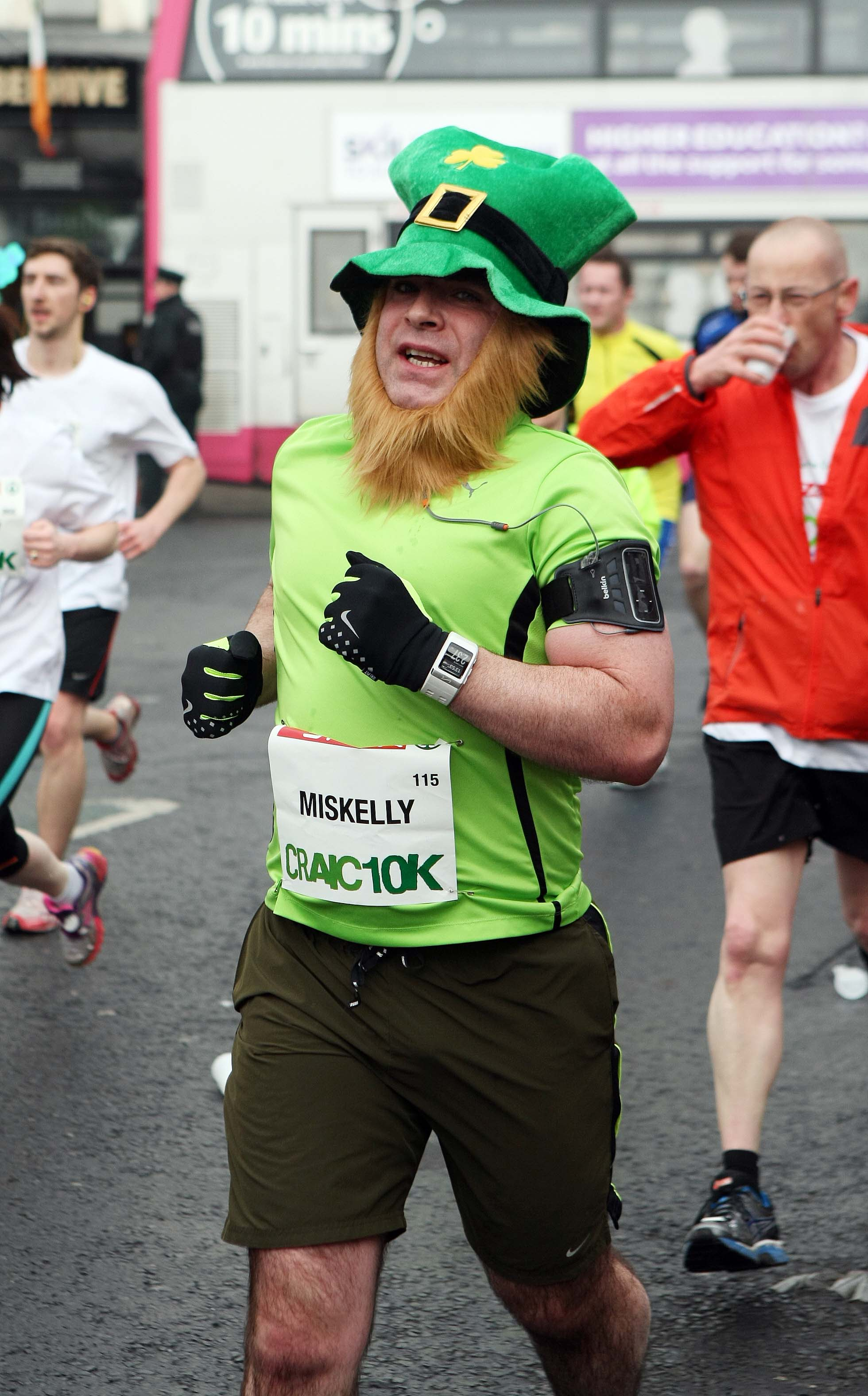 Tuesday 17-3-2015St Patrick's DaySPAR Craic 10k BelfastLeprechauns on the runSparCraic10K170315FP019