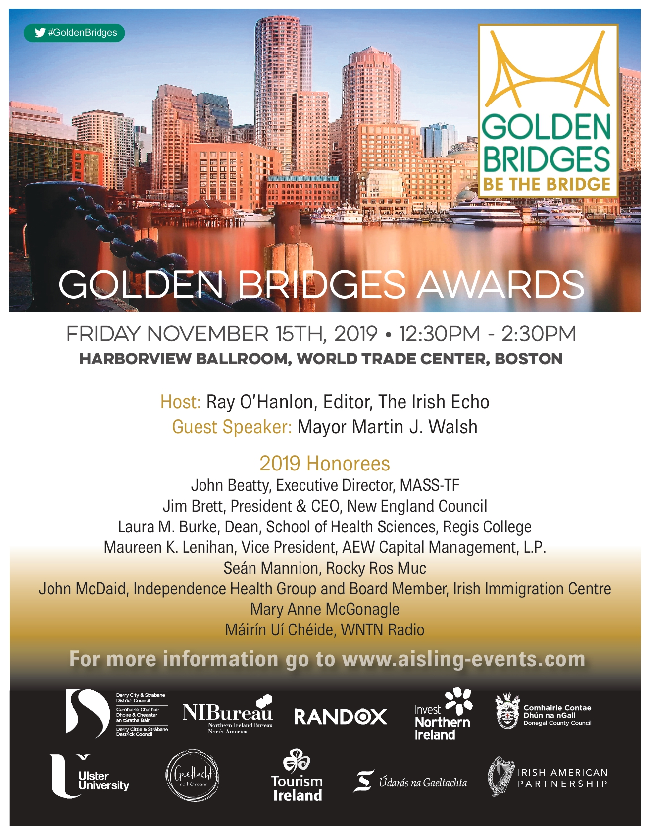 Golden Bridges 2019 Luncheon