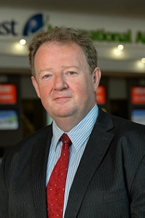 Graham Keddie, MD of Belfast International Airport