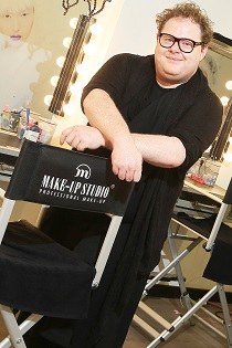 Paddy McGurgan Owner, Make up Pro Store